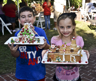 8th Annual Gingerbread Making Party at The Oldest House, December 20th