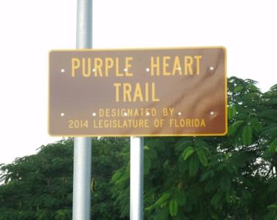 Purple Heart Trail Designation Ceremony Held December 15, 2014
