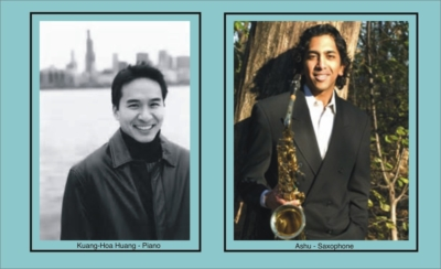 IMPROMPTU CLASSICAL CONCERTS OPENS SEASON WITH SAXOPHONE VIRTUOSO ASHU