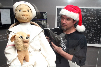 """Author David Sloan reads """"Robert The Doll"""" to … Robert The Doll"""