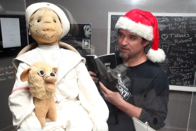 "Author David Sloan reads ""Robert The Doll"" to … Robert The Doll"